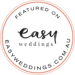 featured on www.easyweddings.com.au